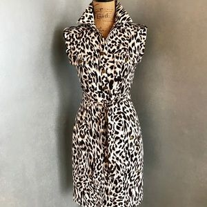 Marvin Richards Animal Print Cargo Dress Size 2